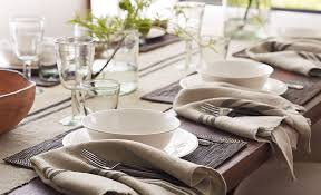 pottery barn dining room tables great 6 dining room table setting secrets pottery barn pertaining to
