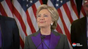 where do clintons live clinton u0027s emotional concession this is u0027painful and will be for a