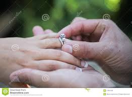 ring marriage finger placing wedding ring on finger royalty free stock image image