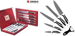 set couteau de cuisine coffret couteaux de cuisine couteau swiss q qualité ustensile