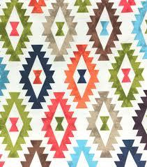 outdoor fabric aztec print joann