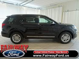 ford explorer 2017 new ford explorer xlt fwd at fairway ford serving youngstown