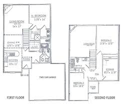Neoclassical Floor Plans by 57 2 Story House Floor Plans Story 1 Bedroom Floor Plans House As