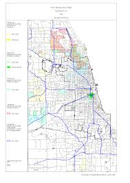 Chicago On A Map by Chicago 1990 Census Maps