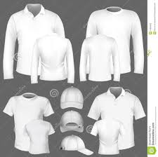 men u0027s long sleeve polo shirt design template royalty free stock