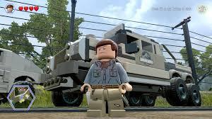 jurassic park car lego lego jurassic world shown all 35 vehicles unlocked pc hd
