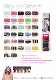 christmas nail art 3d nail stick love heart designed nail wraps