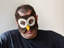 owl mask owl mask for adults owl mask bhb kidstyle