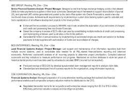 financial analyst resume sle of financial analyst resume x financial analyst resume