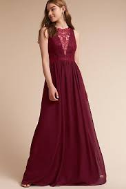 bridal party dresses burgundy wine colored bridesmaid dresses bhldn