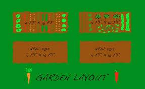 Garden Plot Layout Our Garden The Year Harvest