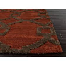 Red White Black Rug Area Rugs Fabulous Astounding Inspiration Red And Brown Area