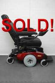 Used Power Wheel Chairs Used Invacare Pronto M51 With Surestep Invacare Used Electric