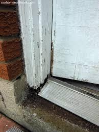 Replace Exterior Door Frame A New Back Door Our Home Notebook