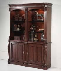 bookshelf with cabinets bar cabinet