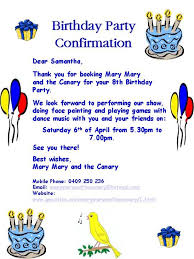 kids birthday party invitation letter sample futureclim info
