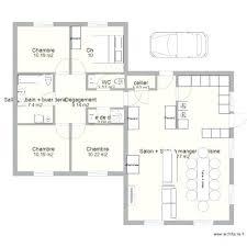 plan maison 4 chambres plan maison en l 4 chambres marvelous plan 6 plan plain pied 4 plan