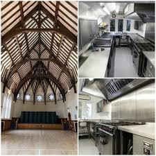commercial kitchen design a village hall where we completed a