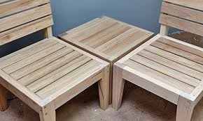 how to make an outdoor table how to make d i y modular outdoor furniture bunnings warehouse nz