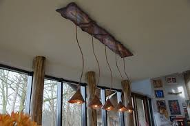 Rustic Ceiling Lights Beautiful Rustic Copper Lighting By Designer Willem Simonis