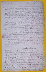 bunker hill exhibit letter from abigail adams to john adams