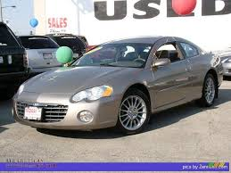 2003 chrysler sebring lxi coupe in light almond pearl metallic
