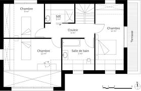 plan maison 4 chambres plan maison 4 chambres 100 m