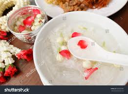 cha e cuisine royal cuisine kao chae cooked stock photo 605600900