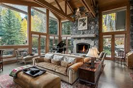 Vail Round Table Erik Organic Vail Colorado Custom Home In Vail Colorado Abode Pinterest