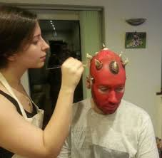 star wars costumes and toys darth maul transformation