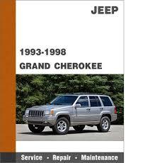 1998 jeep grand manual 1993 1998 jeep grand zj all models factory service manual