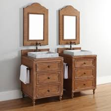 Cottage Style Vanity Homethangs Has Introduced A Guide To Using Light Wood Bathroom
