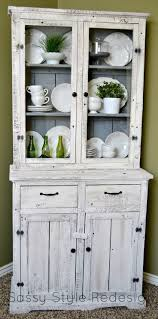 best images about furniture painted hutch dressers pinterest sassy style diy barnwood hutch makeover with annie sloan chalk paint