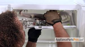 refrigerator thermostat part wp2198202 how to replace youtube