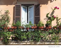 beautiful balcony beautiful balcony with flowers stock image i1167950 at featurepics
