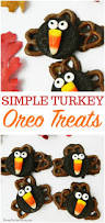 turkey oreo treats perfect thanksgiving craft for kids