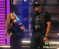 kelly and michael dressed up as beyonce and jay z for the