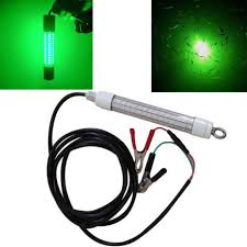 crappie lights for night fishing 12v jahy led green underwater submersible night fishing light for