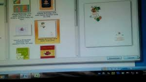 Make A Invitation Card How To Make A Birthday Party Invite With Microsoft Word Youtube