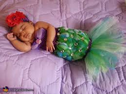 Mermaid Halloween Costume Toddler Littlest Mermaid Costume Homemade Costumes Halloween