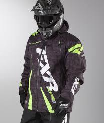 fxr motocross gear fxr boost snowmobile jacket ridestore com