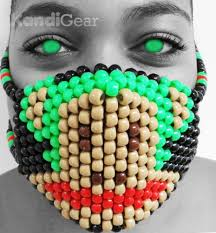 bead mask awesome kandi masks for sale online festival fanatics