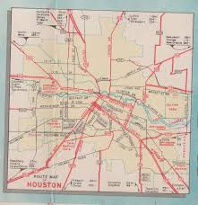 Texas Highway Map Texas Highway Map Circa 1955 Surveying Texas History