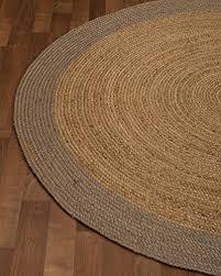 naturalarearugs natural fiber bogota jute round rug 8 feet by 8