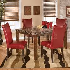 Dining Room Chairs Red Home Design Ideas - Red kitchen table and chairs