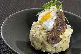 comment cuisiner les truffes noires recette de brandade de cabillaud à la truffe et oeuf poché