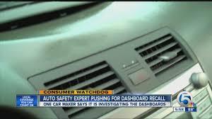 lexus recall on dashboards melting dashboard problem youtube