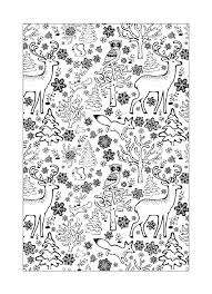 walk winter wonderland gorgeous free colouring