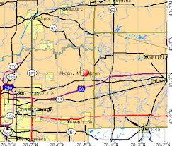 of akron map akron york ny 14001 profile population maps estate