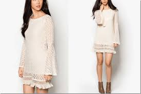7 chic boho bell sleeve dresses fashion inspiration